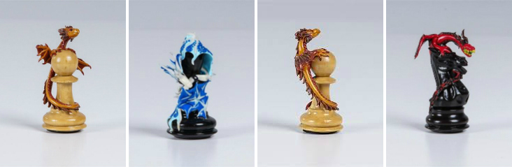 Picodragon Chess by Grace Collection