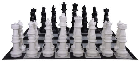 Plastic Giant Chess Set