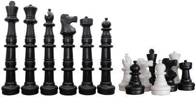 MegaChess Plastic Giant Chess Set