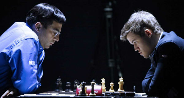 Magnus Carlsen Against Anand