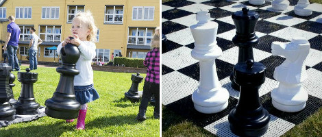 The Rolly Toys Giant Chess Set