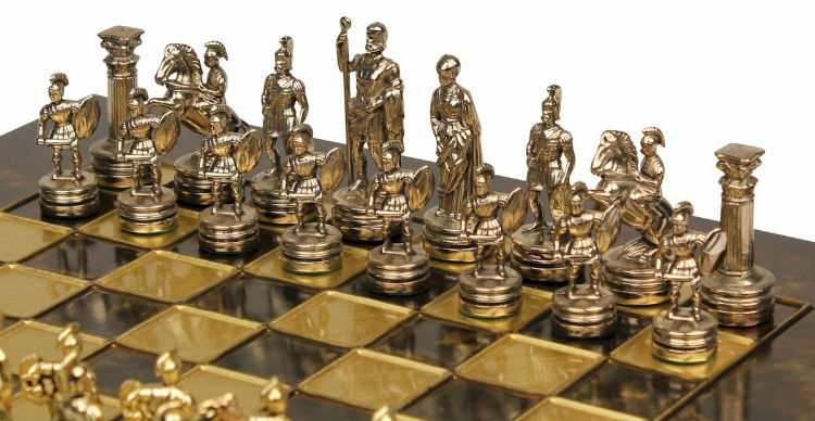 The Finest Roman Chess Sets