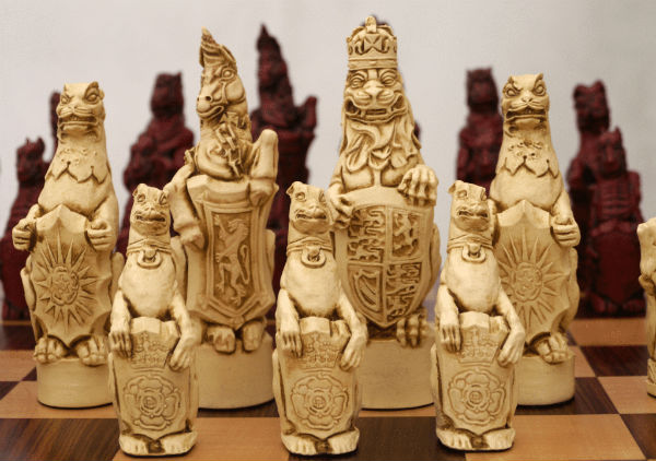 Royal Beasts Chess Pieces by Berkeley