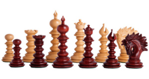 The Savano Series Artisan Wood Chess Pieces