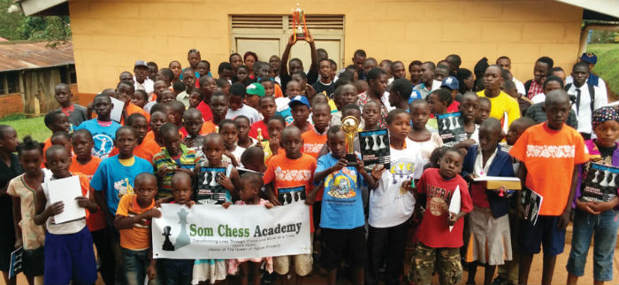 SOM Chess Academy Students