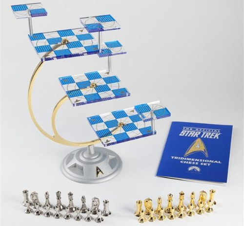 The Star Trek Chess Set