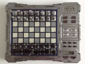 Star Wars Episode I Electronic Galactic Chess Set