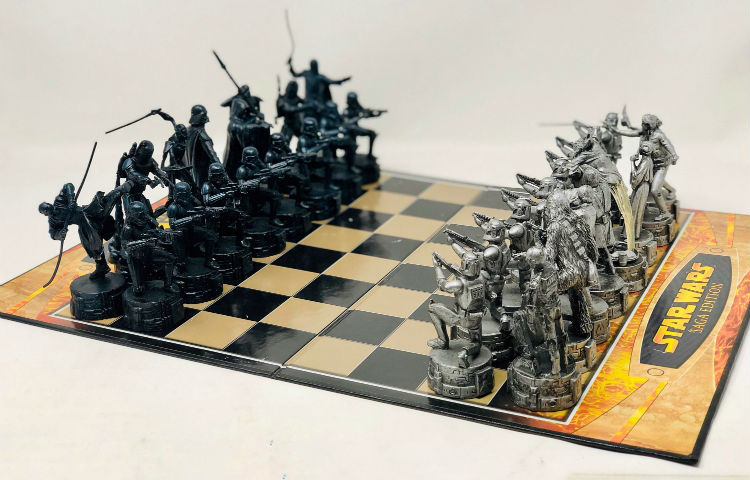 Travel to a Galaxy Far, Far Away with a Star Wars Chess Set!