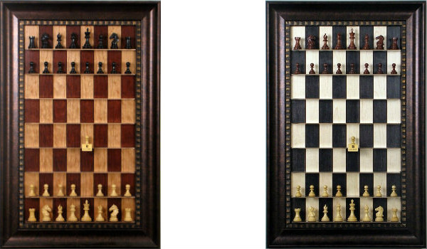 Straight Up Chess Boards