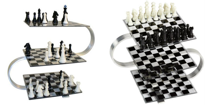Strato 3D Chess Boards