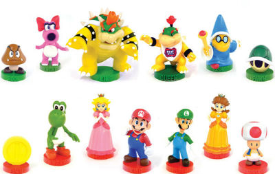 Super Mario Bros Chess Set