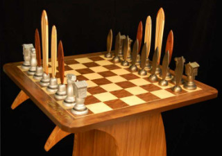 Dave Reynolds Surf Chess Set