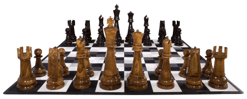 Teak Giant Chess Set