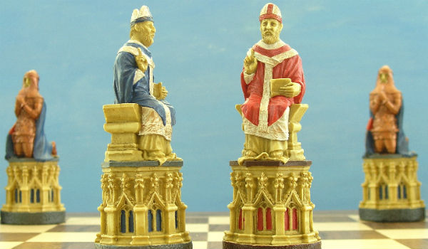 The Canterbury Cathedral Chess Set – Bishops