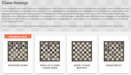 The Chess Website Lessons