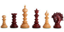 The Savano Series Artisan Chess Pieces
