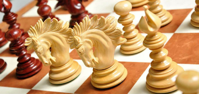 The Savano Series Luxury Wood Chess Set, Box, and Board Combination