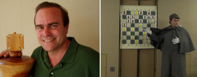 NM Todd Bardwick, also known as the Chess Detective