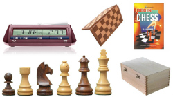 Tournament Pro Wooden Starter Kit for School / College Students
