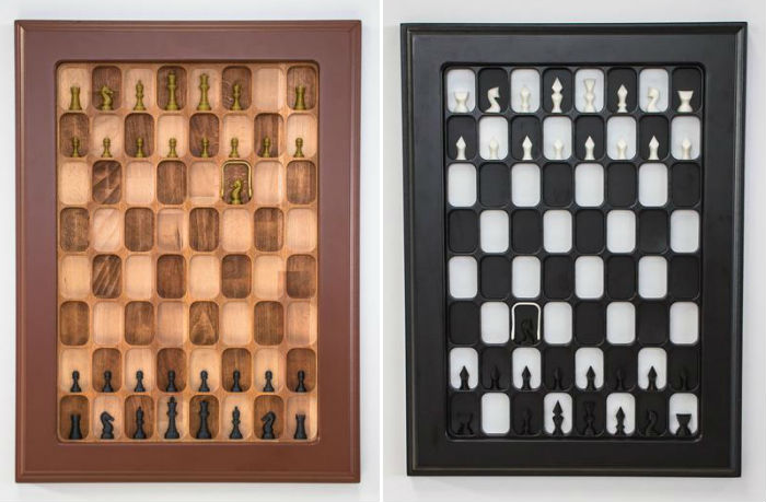 Wall Mounted Chess Boards
