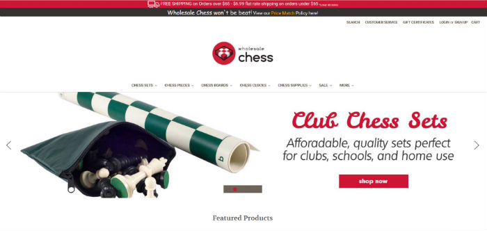 Wholesale Chess Website