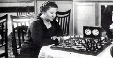 Vera Menchik - The Winner of The Chess Olympiad in 1927