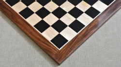 "Wooden Chess Board Ebony Sheesham Wood 23"" - 60 mm"