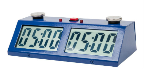 ZMart Pro Digital Chess Clock - Blue
