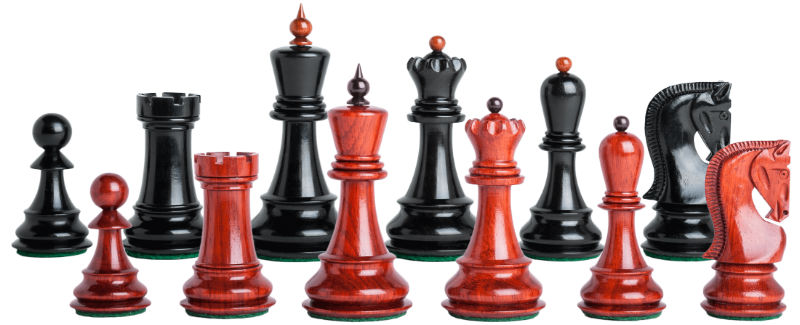 The Zagreb '59 Series Prestige Chess Set Pieces