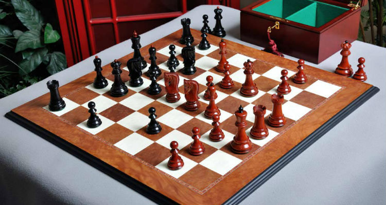 The Zagreb '59 Series Prestige Chess Set