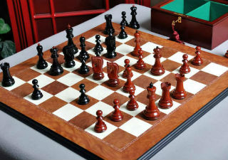 The Zagreb'59 Series Prestige Chess Set, Box, & Board Combination